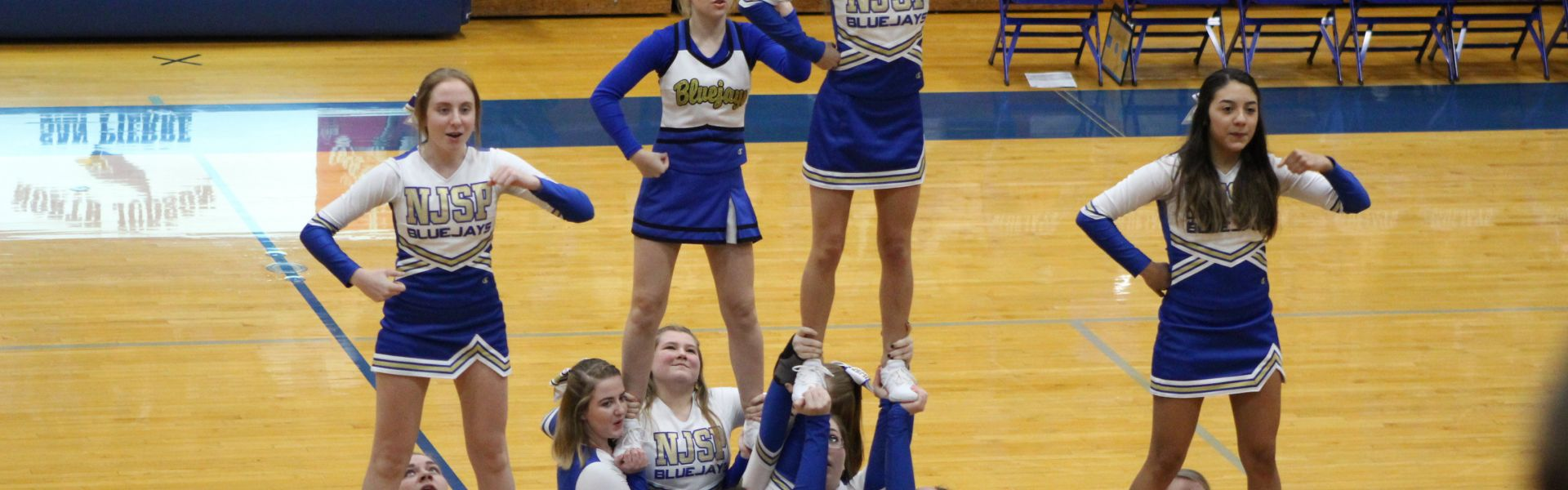 Blue Jay Cheerleading